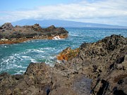 Mccarthy Prints - Lava Coastline - West Maui Print by Glenn McCarthy Art and Photography