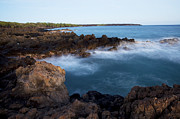 Lava Rock Shore Print by Jenna Szerlag
