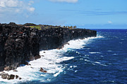 Crashing Photos - Lava Shore by Christi Kraft