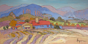 South Of France Painting Originals - Lavande Lavande by Dorothy Fagan