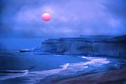 Randall Branham - Lavender Blue Pacific Sunset