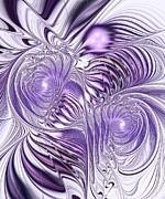Lavender Elegance Print by Anastasiya Malakhova