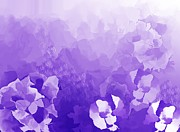 Digital Paintings Landscapes - Lavender Fantasy by David Lane