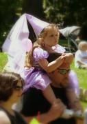 Lavender Princess Print by Cindy Wright