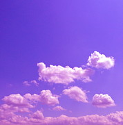 Sky Art - Lavender Skies by M West
