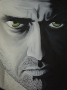 Movie Art Paintings - Law Abiding Citizen by Dean Stephens