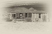 Judge Roy Bean Prints - Law West of Pecos Print by Erika Weber