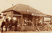 Judge Roy Bean Prints - Law West of the Pecos Print by Pg Reproductions