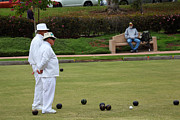 Observer Framed Prints - Lawn Bowling Framed Print by Joe Darin