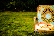 Lawn Chair Posters - Lawn Chair Poster by Dmartin Photography
