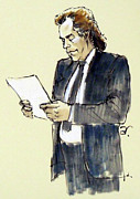 Lawyer Drawings - Lawyer 9 by Armand Roy