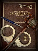 Handcuffs Posters - Lawyer - Criminal Law Poster by Paul Ward