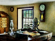 Hurricane Lamp Photos - Lawyer - Globe Books and Lamps by Susan Savad