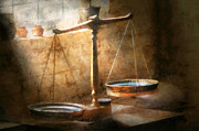 Suburban Art - Lawyer - Scale - Balanced law by Mike Savad
