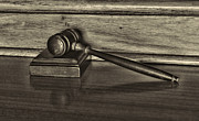 Lawyers Art - Lawyer - The Gavel by Paul Ward