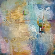 Karen Hale - Layered Blue 1