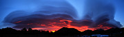 Nature - Layers In The Sky - Panorama by Shane Bechler