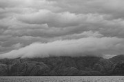 Horizontal Abstract Landscape Framed Prints - Layers of Clouds in Chile Framed Print by Tim Grams