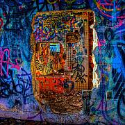 Graffiti Prints - Layers Print by William Wetmore