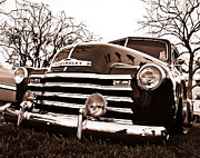 Chevy Truck Prints - Laying Low Print by Merrick Imagery