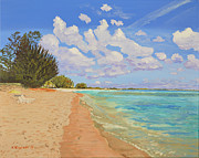 Lazy Originals - Lazy Day on Seven Mile Beach by Dorothy Krajewski