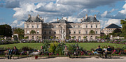 Luxembourg Gardens Prints - Lazy Sunday in Paris Print by Kent Sorensen