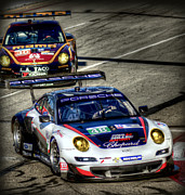 Long Beach Grand Prix Posters - LBGP Porsche Poster by Craig Incardone