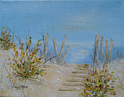 New Jersey Painting Originals - LBI Peace by Judith Rhue