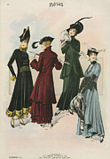 Clothes Clothing Art - Le Costume Royal 1914 1910s Usa  Cc by The Advertising Archives