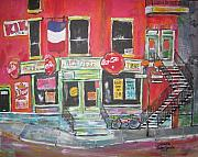 Litvack Paintings - Le Depanneur by Michael Litvack
