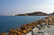 Southern France Photos - Le Fort Carre - Antibes - France by Christine Till