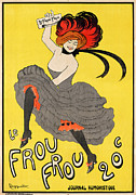 Can Can Digital Art Posters - Le Frou Frou Poster by Nomad Art And  Design