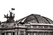 Exhibit Framed Prints - Le Grand Palais Framed Print by Olivier Le Queinec
