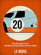 Tv Show Posters - Le Mans Poster Poster by Irina  March