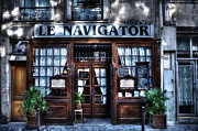 Serve Prints - Le Navigator Paris France Print by Evie Carrier