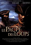 Vintage Posters Art - Le Pacte des Loups Poster by Sanely Great
