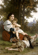 William Bouguereau - Le Repos