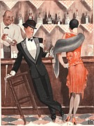 WomenÕs Art - Le Sourire 1920s  France Bars Drunks by The Advertising Archives