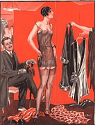 WomenÕs Art - Le Sourire 1920s  France Erotica Sales by The Advertising Archives