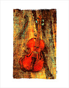 Violin Digital Art - Le Violon a Nicolo by Roger Winkler