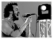 Lead Singer II Print by James Hammen