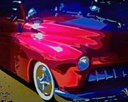 Hot Pink Custom Framed Prints - Lead Sled Framed Print by Michael Pickett