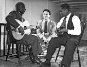 Famous Americans Photos - Leadbelly, NIcholas Ray, Josh White by Underwood Archives