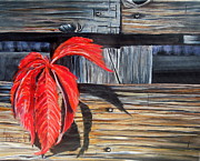 Marilyn  McNish - Leaf shadow 2