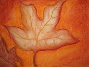 Fall Pastels - Leafy Fall by Heather Hilliard