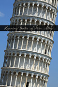 Leaning Building Photos - Leaning Tower of Pisa by Ron Sumners