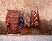 Moroccan Market Prints - Learning to fly  Print by A Rey