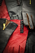 Duotone Posters - Leather gloves Poster by Elena Elisseeva