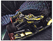 Lotus Racecar Prints - Leavemealone Print by Robin DaSilva