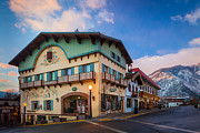 Leavenworth Alps Print by Inge Johnsson